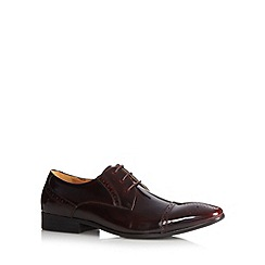 Jeff Banks - Designer wine leather brogues