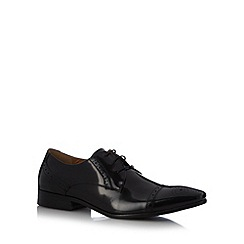 Jeff Banks - Designer black leather brogues