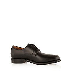 Berwick - Black leather lace up shoes