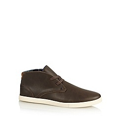 Red Herring - Chocolate lace up chukka boots