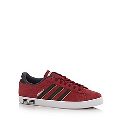 adidas - Wine suede 'Coderby' trainers
