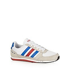 adidas - White 'Neo City Racer' trainers