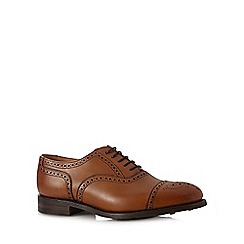 Loake - Tan leather lace up brogues