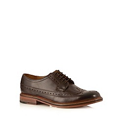 Hammond & Co. by Patrick Grant - Designer chocolate leather brogue shoes