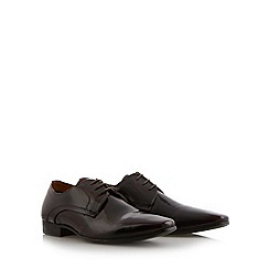 Red Herring - Wine high shine leather shoes