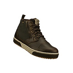 Skechers - Skechers brown lace up boots