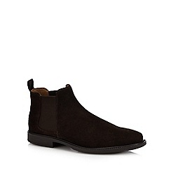 FFP - Chocolate leather stitched toe cap boots
