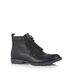 FFP - Black leather lace up boots