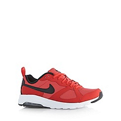 Nike - Red 'Air Max Muse' trainers