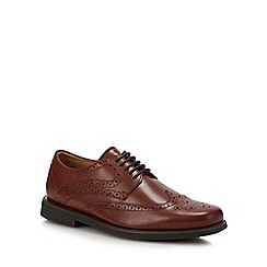 Henley Comfort - Tan lace up brogues