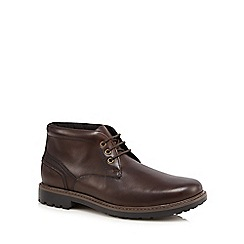 Maine New England - Brown waterproof chukka boots