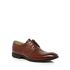 Steptronic - Tan leather Derby shoes