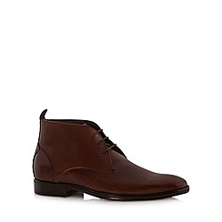 Jeff Banks - Designer tan chukka boots
