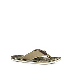 Mantaray - Khaki camouflage sandals