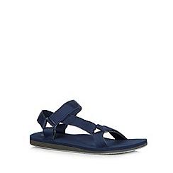 Mantaray - Navy multi strap sandals