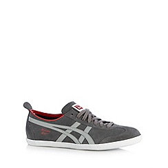 Onitsuka Tiger - Grey suede lace up trainers