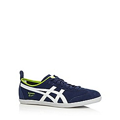 Onitsuka Tiger - Navy suede lace up trainers