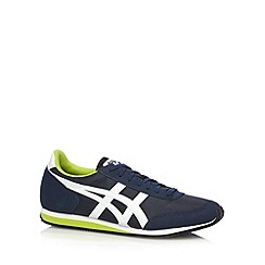 Onitsuka Tiger - Navy branded lace up trainers
