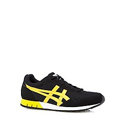 Onitsuka Tiger - Black logo lace up trainers