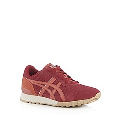 Onitsuka Tiger - Red leather lace up trainers
