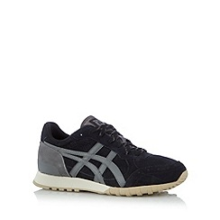Onitsuka Tiger - Navy suede panel trainers