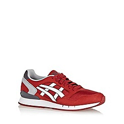 Onitsuka Tiger - Dark red 'Gel Atlantis QI' trainers