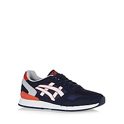 Onitsuka Tiger - Navy 'Gel Atlantis QI' trainers