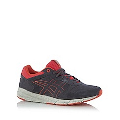 Onitsuka Tiger - Dark grey suede lace up trainers