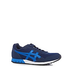 Onitsuka Tiger - Navy logo applique mesh trainers
