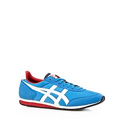 Onitsuka Tiger - Blue canvas logo trainers