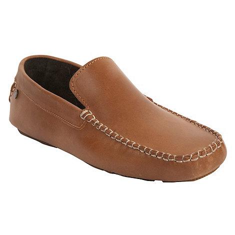 Base London - Tan +Jenson+ slip-on shoes