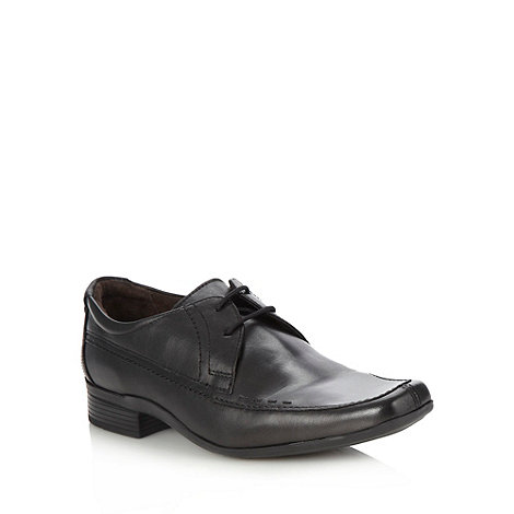 Base London - Black pointed lace-up shoes