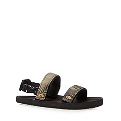 Animal - Black camouflage rip tape sandals