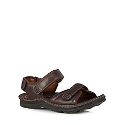 Clarks - Dark brown 'ATL Part' sandals