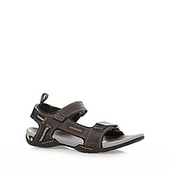 Clarks - Grey 'Victus Double Strap' sandals