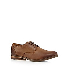 Clarks - Brown 'Exton Walk' leather shoes