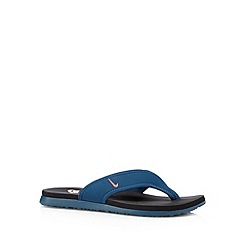 Nike - Blue 'Celso Thong Plus' flip flops