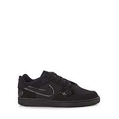 Nike - Black 'Son Of Force' leather patent trainers
