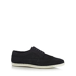 FFP - Navy suede lace up brogues
