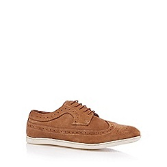 FFP - Tan suede sailor brogues