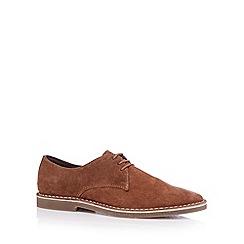 FFP - Tan suede lace up shoes