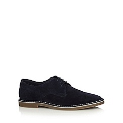 FFP - Navy suede lace up shoes