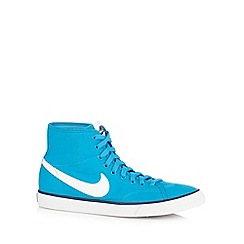 Nike - Blue 'Primo Court Mid' trainers