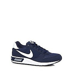 Nike - Blue 'Night Gazer' trainers