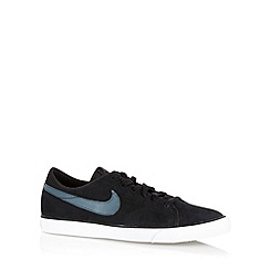 Nike - Black 'Primo Court Leather' trainers