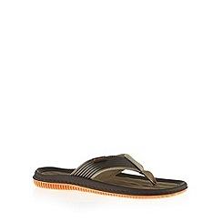Rider - Khaki padded flip flops