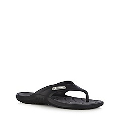 Rider - Black toe post sandals