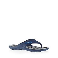 Rider - Blue open toe flip flops