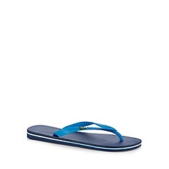 Rider - Blue flag rubber flip flops