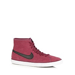 Nike - Wine 'Primo Court Mid' trainers